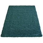 more details on Jazz Shaggy Rug - 80x150cm - Teal.