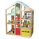 more details on Melissa and Doug Wooden Hi Rise Dollhouse.