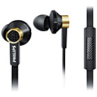 more details on Philips TX2 In-Ear Headphones with Mic - Black and Gold.