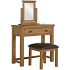 more details on Heart of House Kent Dressing Table, Stool and Mirror.