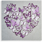 more details on Collection Butterfly Heart Canvas.
