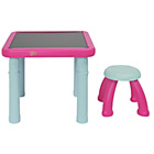 more details on Chad Valley Sit and Draw Play Table - Pink and Blue.