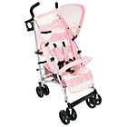 more details on Billie Faiers MB01 Pink Stripe Stroller.