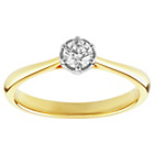 more details on Enchanted 9ct Gold 0.25ct Diamond Solitaire Ring.