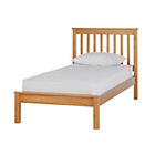 more details on Childrens Aspley Single Bed Frame with Ashley Mattress-Pine.