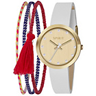 more details on Spirit Girl's White Strap Watch and 3 Bracelet Set.