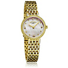 more details on Rotary Ladies' Gold Plated Bracelet Dress Watch.