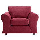 more details on HOME New Clara Fabric Chair - Red.