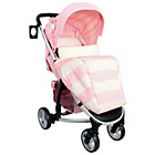 more details on Billie Faiers MB99 Pink Stripes Pushchair.