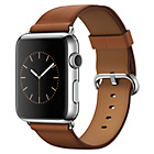 more details on Apple Watch 2015 42mm Stainless Steel Case & Saddle Brown.
