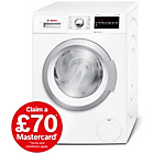 more details on Bosch WAT28420GB 8KG 1400 Spin Washing Machine - White.