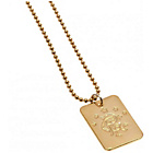 more details on Gold Plated Rangers Dog Tag & Ball Chain.