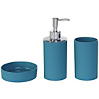 more details on ColourMatch Bathroom Accessory Set - Lagoon.