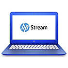 "more details on HP Stream 13.3"" Intel Celeron 2GB 32GB SSD Laptop - Blue"