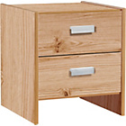 more details on Capella 2 Drawer Bedside Chest - Pine.