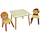 more details on Liberty Houe Jungle Nursery Table and 2 Chairs.