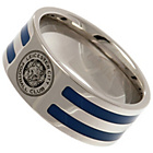 more details on Stainless Steel Leicester City Ring - U.