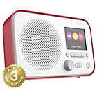 more details on Pure Elan 3 Colour Screen DAB Radio - Red.