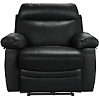more details on Collection New Paolo Leather Power Recliner Chair - Black.