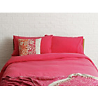 more details on Habitat Washed Single Bed Linen Set - Pomegranate.