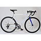 more details on Muddyfox Road 14 Inch White/Blue Bike - Mens