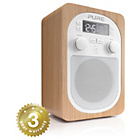 more details on Pure Evoke DAB Radio - Oak.