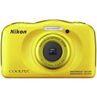 more details on Nikon CoolPix W100 13MP Waterproof Camera - Yellow.
