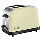 more details on Russell Hobbs 23334 Colours Plus 2 Slice Toaster - Cream.