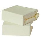more details on Baby Elegance 2 Pack Jersey Fitted Sheets - Cream.