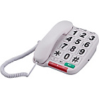 more details on Opticom Big Button Corded Desk Telephone - Single.