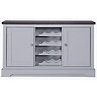 more details on Heart of House Westbury Sideboard with Wine Rack - Grey.