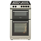 more details on Belling FS50EFDO Electric Cooker - Silver.