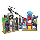 more details on Fisher-Price Imaginext DC Super Friends Hero Flight City