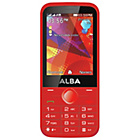 more details on Sim Free Alba 2.8 Inch Mobile Phone - Red.
