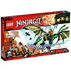 more details on LEGO Ninjago The Green NRG Dragon - 70593.