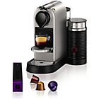 more details on Krups Nespresso Titanium Citz and Milk - Silver.