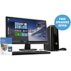 "more details on HP 24"" Intel Celeron 4GB 1TB Desktop PC Bundle inc McAfee."