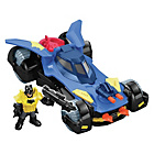 more details on Fisher-Price Imaginext DC Super Friends Batmobile
