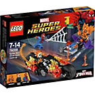 more details on LEGO Super Heroes Spider-Man: Ghost Rider Team-up - 76058.
