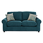 more details on HOME Tessa 2 Seater Fabric Sofa - Teal.