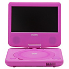 more details on Alba 7 Inch Portable DVD Player - Pink.