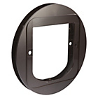 more details on SureFlap Cat Flap Glass Mounting Adaptor - Brown.
