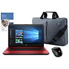 "more details on HP 15"" Intel Pentium 8GB 2TB Red - Inc Bag, Mouse & McAfee"