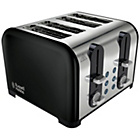more details on Russell Hobbs Westminster 4 Slice Toaster - Black.