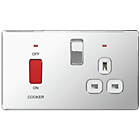 more details on Masterplug 45A DP 2G Cooker Switch and 13A Socket.