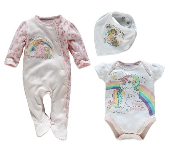 See all results for my little pony baby clothes. My Little Pony Girls Magical 4-Piece Cotton Pajama Set, by My Little Pony. $ - $ $ 13 $ 44 00 Prime. FREE Shipping on eligible orders. Some sizes/colors are Prime eligible. out of 5 stars