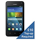 more details on Vodafone Huawei Y3 Mobile Phone - Black.