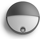 more details on Philips myGarden Capricorn Wall Lamp - Anthracite.