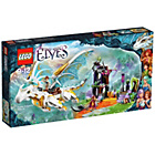 more details on LEGO Elves Queen Fragons Rescue Playset - 41179.