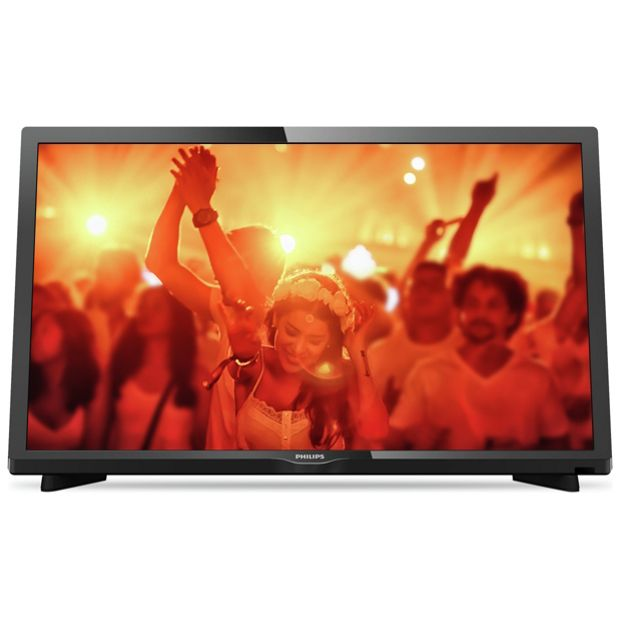 buy philips 24pht4031 05 24 inch hd ready fvhd tv at argos. Black Bedroom Furniture Sets. Home Design Ideas
